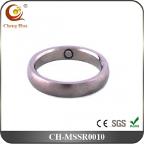 Stainless Steel & Titanium Magnetic Ring MSSR0010