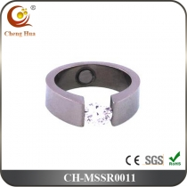 Stainless Steel & Titanium Magnetic Ring MSSR0011