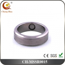 Stainless Steel & Titanium Magnetic Ring MSSR0015