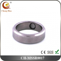 Stainless Steel & Titanium Magnetic Ring MSSR0017
