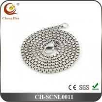Stainless Steel & Titanium Chain Necklace SCNL0011