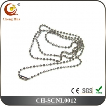 Stainless Steel & Titanium Chain Necklace SCNL0012