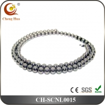 Stainless Steel & Titanium Chain Necklace SCNL0015