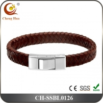 Stainless Steel & Titanium Bangle SSBL0126