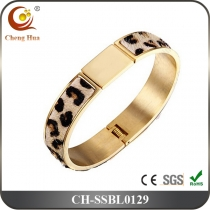 Stainless Steel & Titanium Bangle SSBL0129