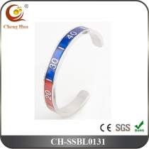 Stainless Steel & Titanium Bangle SSBL0131