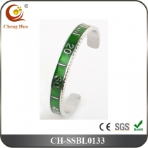 Stainless Steel & Titanium Bangle SSBL0133