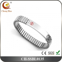 Stainless Steel & Titanium Bangle SSBL0135