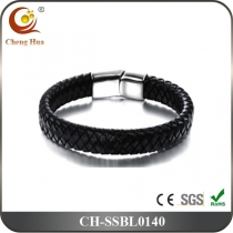 Stainless Steel & Titanium Bangle SSBL0140