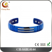 Stainless Steel & Titanium Bangle SSBL0144