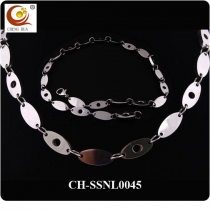 Stainless Steel & Titanium Magnetic Necklace SSNL0045