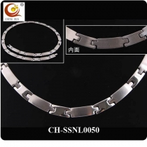 Stainless Steel & Titanium Magnetic Necklace SSNL0050