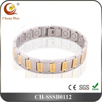 Single Line Men's Magnetic Bracelet SSSB0112