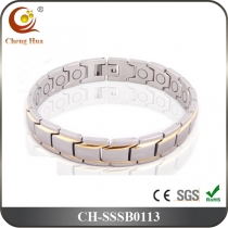 Single Line Men's Magnetic Bracelet SSSB0113