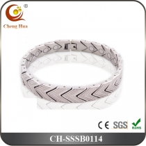 Single Line Men's Magnetic Bracelet SSSB0114