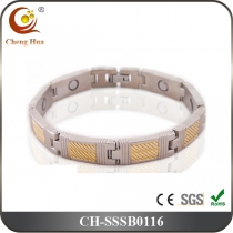 Single Line Men's Magnetic Bracelet SSSB0116