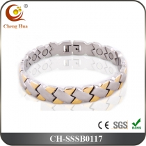 Single Line Men's Magnetic Bracelet SSSB0117