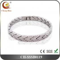 Single Line Men's Magnetic Bracelet SSSB0119