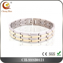 Single Line Men's Magnetic Bracelet SSSB0121