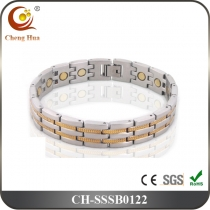 Single Line Men's Magnetic Bracelet SSSB0122