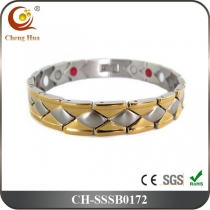 Single Line Men's Magnetic Bracelet SSSB0172
