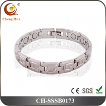 Single Line Men's Magnetic Bracelet SSSB0173