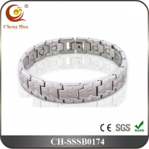 Single Line Men's Magnetic Bracelet SSSB0174