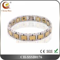 Single Line Men's Magnetic Bracelet SSSB0176