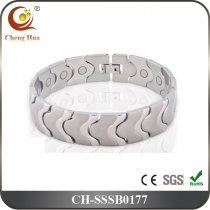 Single Line Men's Magnetic Bracelet SSSB0177