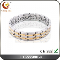 Single Line Men's Magnetic Bracelet SSSB0178