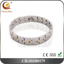 Single Line Men's Magnetic Bracelet SSSB0179