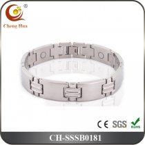 Single Line Men's Magnetic Bracelet SSSB0181