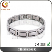 Single Line Men's Magnetic Bracelet SSSB0183