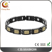 Single Line Mens Magnetic Bracelet SSSB0208