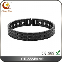 Single Line Mens Magnetic Bracelet SSSB0209