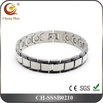 Single Line Mens Magnetic Bracelet SSSB0210