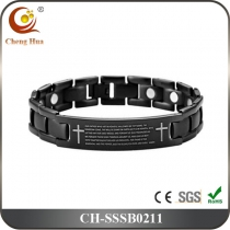 Single Line Mens Magnetic Bracelet SSSB0211