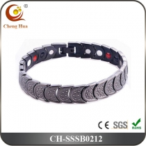 Single Line Mens Magnetic Bracelet SSSB0212