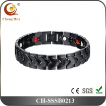 Single Line Mens Magnetic Bracelet SSSB0213