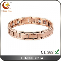 Single Line Mens Magnetic Bracelet SSSB0214