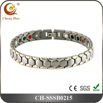 Single Line Mens Magnetic Bracelet SSSB0215