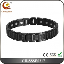 Single Line Mens Magnetic Bracelet SSSB0217