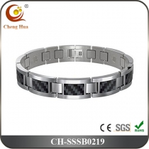 Single Line Mens Magnetic Bracelet SSSB0219